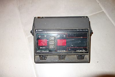 Ge S-550 Control System General Electric S550 Control Head 2 Way Mobile Radio