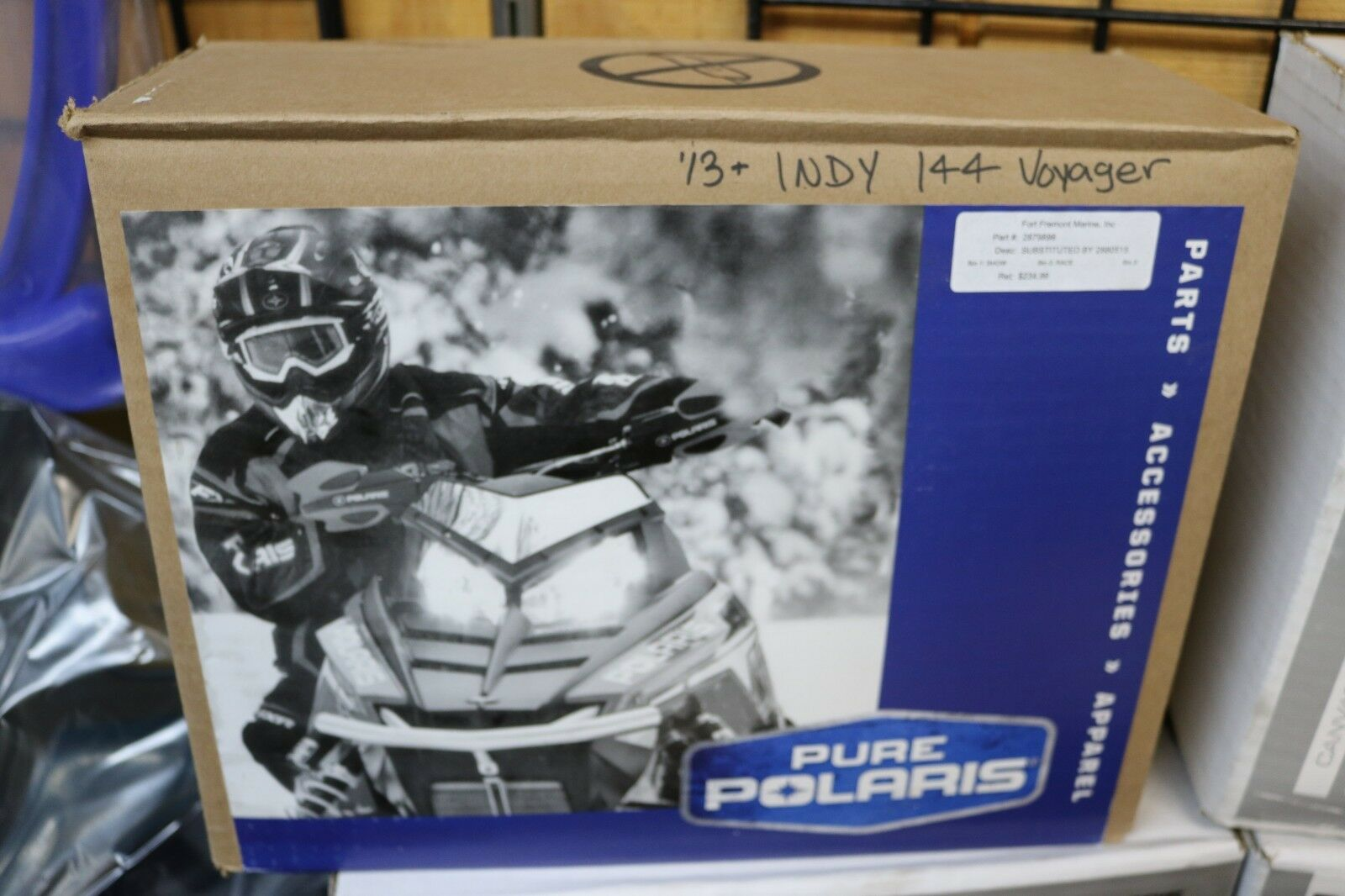 NEW POLARIS COVER  VOYAGER-  P#- 2880515 -P# 2879896 144/155