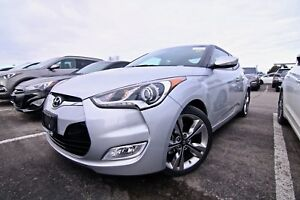 2016 Hyundai Veloster Tech, Navi, leather, Sunroof, Push button