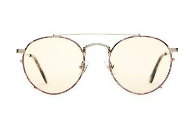 Crap Eyewear Sunglasses The Tuff Safari Espresso Rims / Silver Wire / Gold Tint