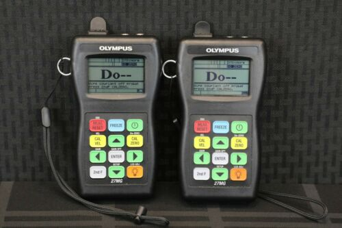 Olympus 27 MG Ultrasonic Thickness Gauge-NDT-UT-Panametrics-GE