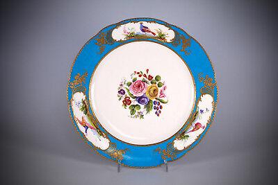 Sevres porcelain plate