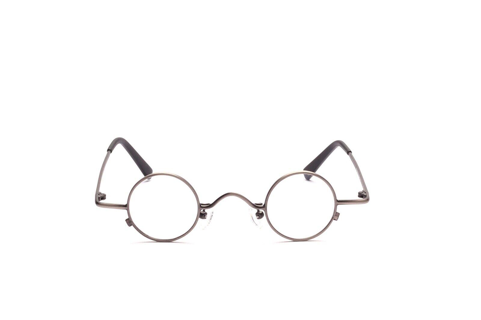 Kleine runde Brille Fassung Mod. DY 304 in 32 -30 mm in Antiksilber