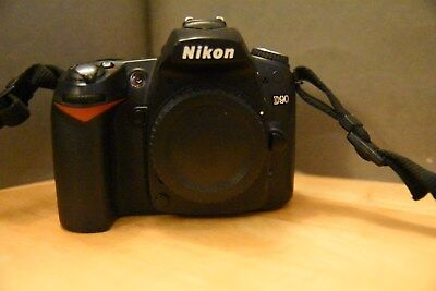 NIKON D90 DX DSLR CAMERA 12.1 MP DIGITAL SLR body only VIDEO camcorder USED cmos Nikon D90 Video