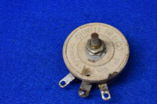 Ohmite 35 Ohm 25 Watt Ceramic Vintage Power Potentiometer Tested