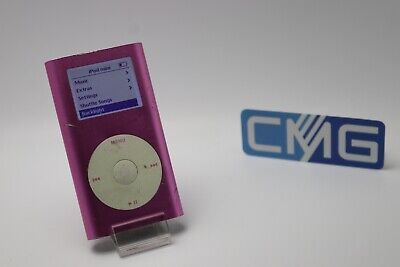 Apple iPod mini 2. Generation Rosa (4GB) 2G MP3 player ( Rarität 2003) #M28 2. Generation 4gb Mp3-player