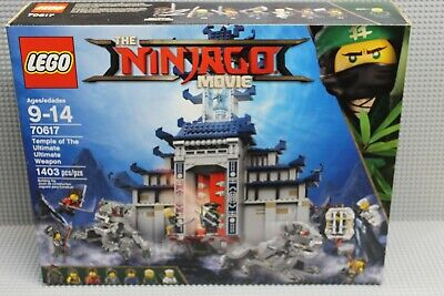 Lego Ninjago 70617 Temple of the Ultimate Ultimate Weapon! Brand New! Retired