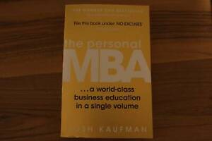 The Personal MBA: Josh Kaufman - Paperback | Nonfiction