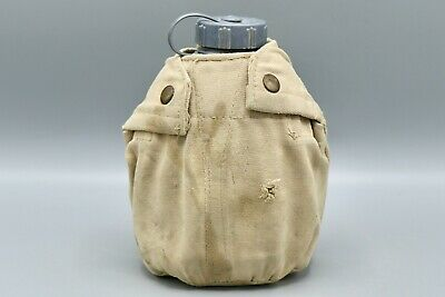 Original Iraq OIF War Bringback - Iraqi Blue Canteen with Cover