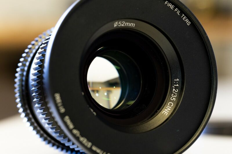 SLR Magic 35mm f/1.2 Full Frame Cine Lens (Sony E-Mount)