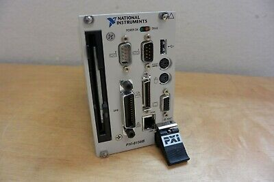 National Instruments Ni Pxi-8156b Embedded Controller Cpu Working