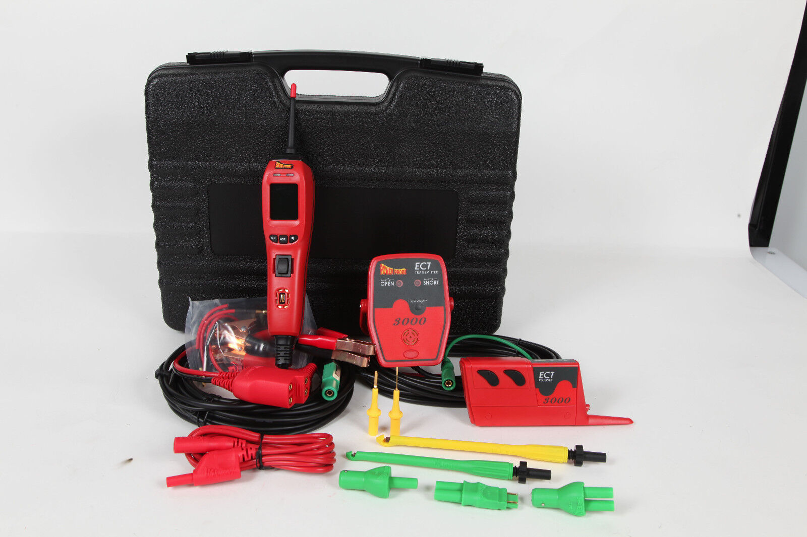 Power Probe 4 Master Kit With Intell Tracer Ppkit04 878253003143 Ebay Audio Signal Injector Intelligent Circuit For Shorts And Opens Gold Series Lead Set Ppls01 This Diagnostic Is Well Balanced To