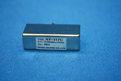 Yaesu XF-117C 500Hz CW Filter for FT-100 FT-100D- Security code 126022 for sale  Overland Park