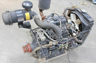 MITSUBISHI 3 CYLINDER DIESEL K3E COMPLETE ENGINE MULTI PURPOSE START & RUN