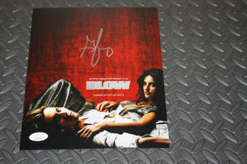 GEORGE JUNG SIGNED AUTOGRAPHED 8X10 PHOTO MOVIE BLOW JSA WITNESS DVD COVER RED