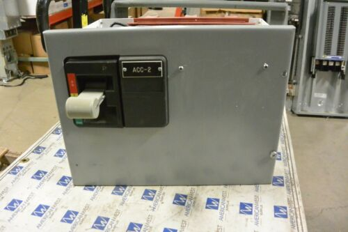 """Eaton Cutler Hammer 12"""" MCC Breaker Feeder Bucket for FD HFD 15 amp 600v Empty"""