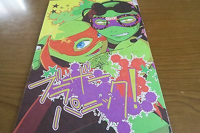 Teenage Mutant Ninja Turtles doujinshi RL anthology A5 136pages eclipse