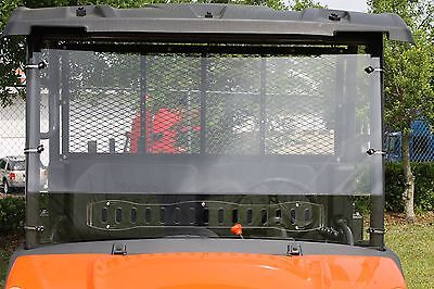 KUBOTA RTV X900 X1120 X1140 1 PIECE VENTED WINDSHIELD SALE!