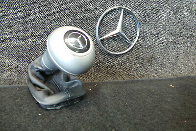 Passt für Mercedes C-Klasse W203 S203 SCHALTSACK SCHALTKNAUF Schwarz 6G //T3-1