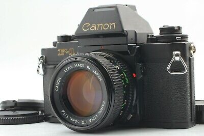 【 Near Mint++】 Canon New F-1 AE Finder New FD 50mm f/1.4 Lens NFD From Japan #33