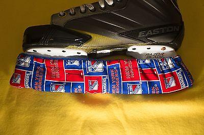 Custom Ice Skate Soakers / Blade Covers Several NHL Teams USA Made!! - Nhl Custom Ice