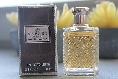 Parfum Miniatur Safari For Men 11ml Eau De Toilette von Ralph Lauren mit OVP