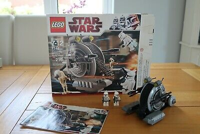 LEGO Star Wars 7748|Corporate Alliance Tank Droid|With Box and Manual|