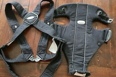 BABY BJORN Baby Carrier Original, Navy BLUE 100% Cotton, Baby Bjorn Excellent for sale  Shipping to India