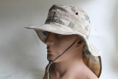 Buschhut, Hut  Nackenschutz Ripstop Panter NATO Combat Boonie Hat. Gr.58 wie neu