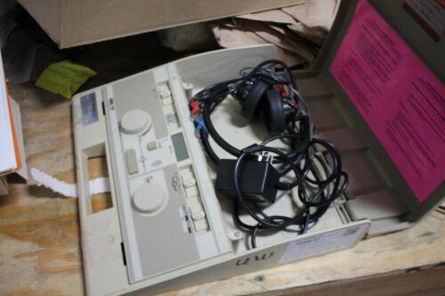 GSI 17 Audiometer Telephonics Includes Headphones
