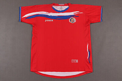 Costa Rica 2006-07 Authentic Home Shirt  Soccer Football Jersey - Size UK L image