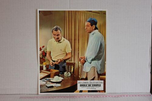 The Odd Couple (1968) Movie Photo Jack Lemmon, Walter Matthau, John Fiedler