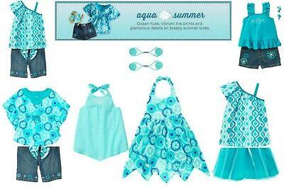 NWT Gymboree Aqua Summer Sets U-Pick, Sizes: 4T, 5T, Kid 4, Kid 5
