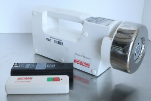 Biotest Hycon RCS Plus Air Sampler 940310 7.2V 6W w/ Case, Remote & Battery