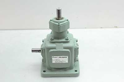 Tsubaki Emerson Ed4m-u-l-y Worm Drive Right Angle Gear Reducer 11 Gearbox Ratio
