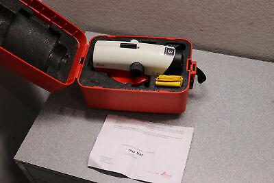 Leica Geosystems Na730 Plus Automatic Optical Level W Hard Case