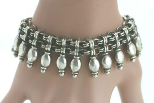 Rajasthan Indian Sterling Silver Bracelet
