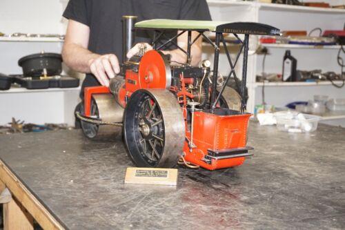 Large Live Steam Engine Road Roller, Scratch Built.