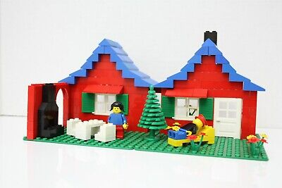 Vintage Lego Town – 376 - House with Garden – 1978