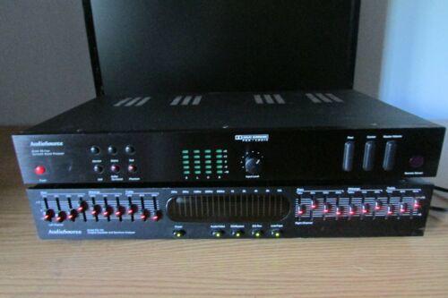 AudioSource Model EQ 100 Graphic Equalizer and Spectrum Analyzer & SS Surround
