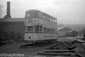 Sheffield Corporation Tramcar 513 Stored at Oxenhope Tram Photo