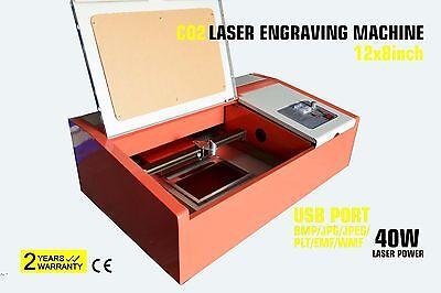 40w CO2 CUTTER ENGRAVING Machine laser à graver 40W LASER TUBE NEWEST DESIGN