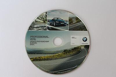 GENUINE BMW 2018 PROFESSIONAL NAVIGATION MAPS UPDATE SAT NAV DISC E90 E91 E92 93