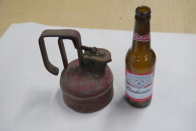 Justrite Safety Can 1 Pint Old Vintage