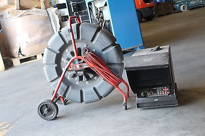 Ridgid Seesnake 71rk With Lcd Monitor Dvd 75-03003589