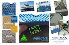 Cork Boat Decking Perth WA, UV resistant, stain resistant, anti-slip, West Perth Perth City Preview