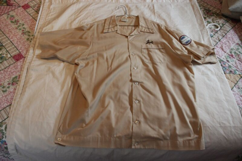 VINTAGE BOWLING SHIRT FROM TRI-LOCAL UNITED  STEELWORKERS OF AMERICA