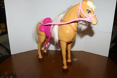 Barbie Dream Horse 2013 with Saddle , bridle and reins