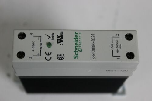 Schneider Electric SSR630DIN-DC22 Solid State Relay New
