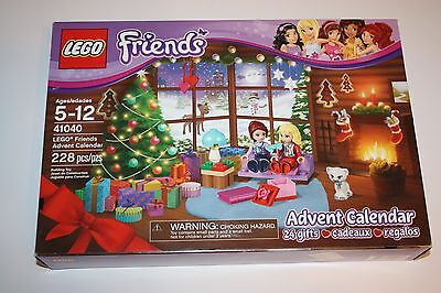 Lego 41040 Friends   Advent Calendar   Brand New   Sealed   Fast Ship  From 2014